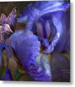Goddess Of Mystery Metal Print