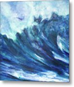 Goddess Of The Waves Metal Print