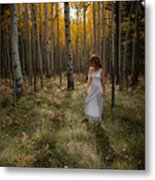 Goddess Walk Metal Print