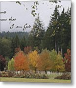 Gods Autumn Masterpiece Metal Print