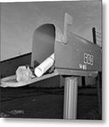 God's Mailbox Metal Print
