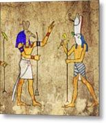Gods Of Ancient Egypt Metal Print