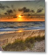 God's Promise Of A New Day Metal Print