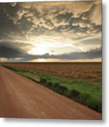 God's Way Of Calling It A Day Metal Print