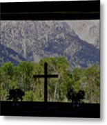 God's Window Metal Print