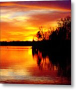 God's Work Metal Print