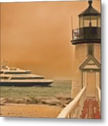 Godspeed At Brant Point Nantucket Island Metal Print