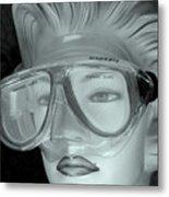 Goggle Me Metal Print