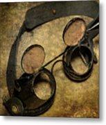 Goggles Metal Print
