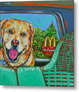 Goin' To Mickey D's With My Peeps Metal Print