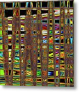 Going And Going Abstract Metal Print