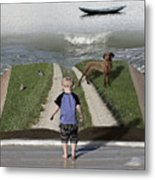 Going Back Home Metal Print