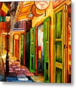 Going Back To New Orleans Metal Print