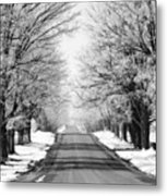 Going Home For The Holidays  Metal Print