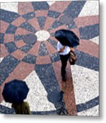 Going North Going South - Umbrellas Series 1 Metal Print