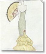 Going To The Ball Metal Print by Christine Corretti