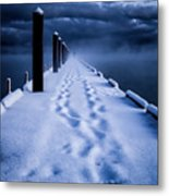 Going To The End Metal Print