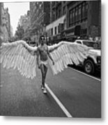 Going To The Parade Metal Print