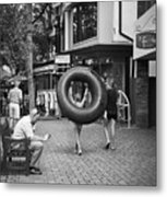 Going To The Water Metal Print