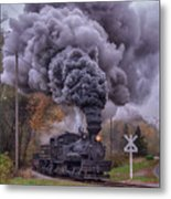 Going To Town Metal Print