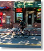 Going To Work Metal Print