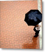 Going West - Umbrellas Series 1 Metal Print