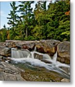 Going With The Flow Metal Print