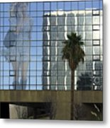 Going With The Wind Metal Print