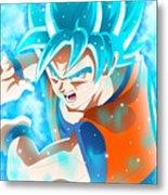 Goku In Dragon Ball Super  Metal Print