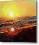 Gold Beach Oregon Sunset Metal Print