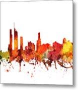 Gold Coast Cityscape 04 Metal Print