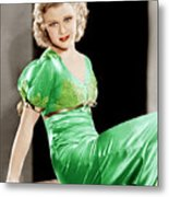 Gold Diggers Of 1933, Ginger Rogers Metal Print