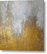 Gold In The Mountain Metal Print
