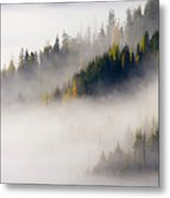 Gold In Them Hills Metal Print