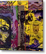 Gold Of The Desert Kings Metal Print