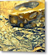 Gold On Gold Metal Print