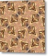 Golden Arrowheads Metal Print