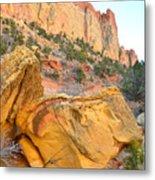 Golden Butte Metal Print