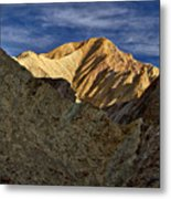 Golden Canyon View #2 - Death Valley Metal Print