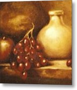 Golden Carafe Metal Print