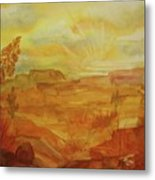 Golden Dawn Metal Print