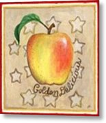 Golden Delicious Two Metal Print