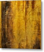 Golden Discovery Metal Print