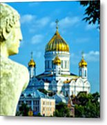 Golden Domes Moscow Metal Print