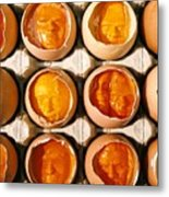Golden Eggs Metal Print