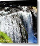 Golden Falls, Oregon Metal Print