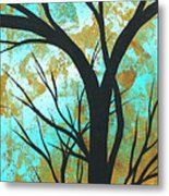 Golden Fascination 4 Metal Print