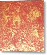 Golden Flames Metal Print
