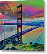 Golden Gate 1 Metal Print
