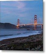 Golden Gate Bridge 2 Metal Print